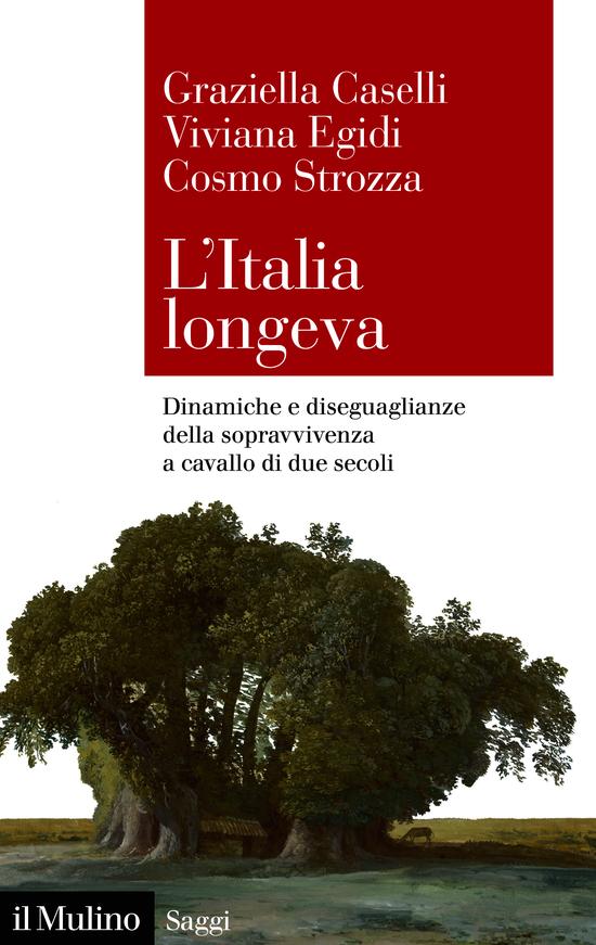 Copertina del libro L'Italia longeva